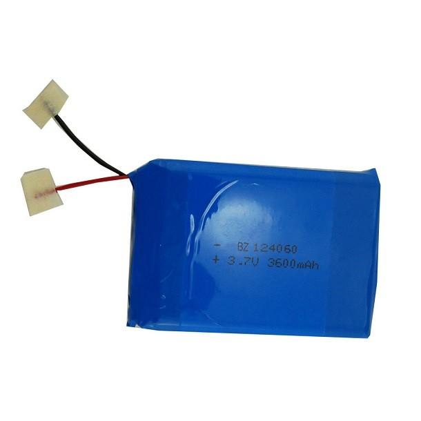 中國鋰電池供應商批發廉價 BZ 124060 3600mah 3.7V Lipo 電池組