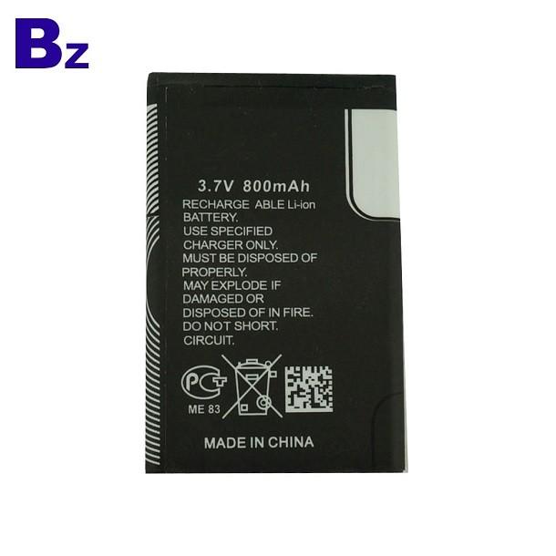 中國供應 BZ 503055 800mah 3.7V 手機充電鋰電池