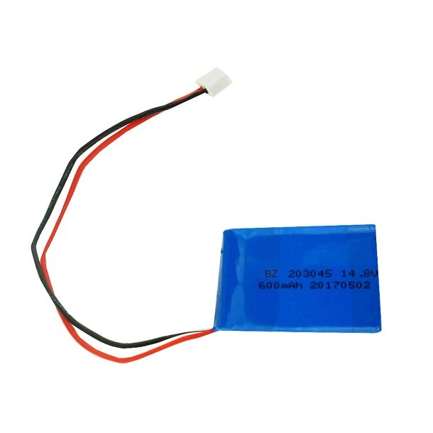 中國供應商定制 BZ 203045 14.8V 600mah 4S 鋰離子聚合物電池