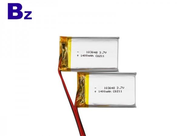 電子數碼產品電池 - BZ 103048 - 3.7V - 1400mAh - 鋰聚合物電池 - 可充電電池