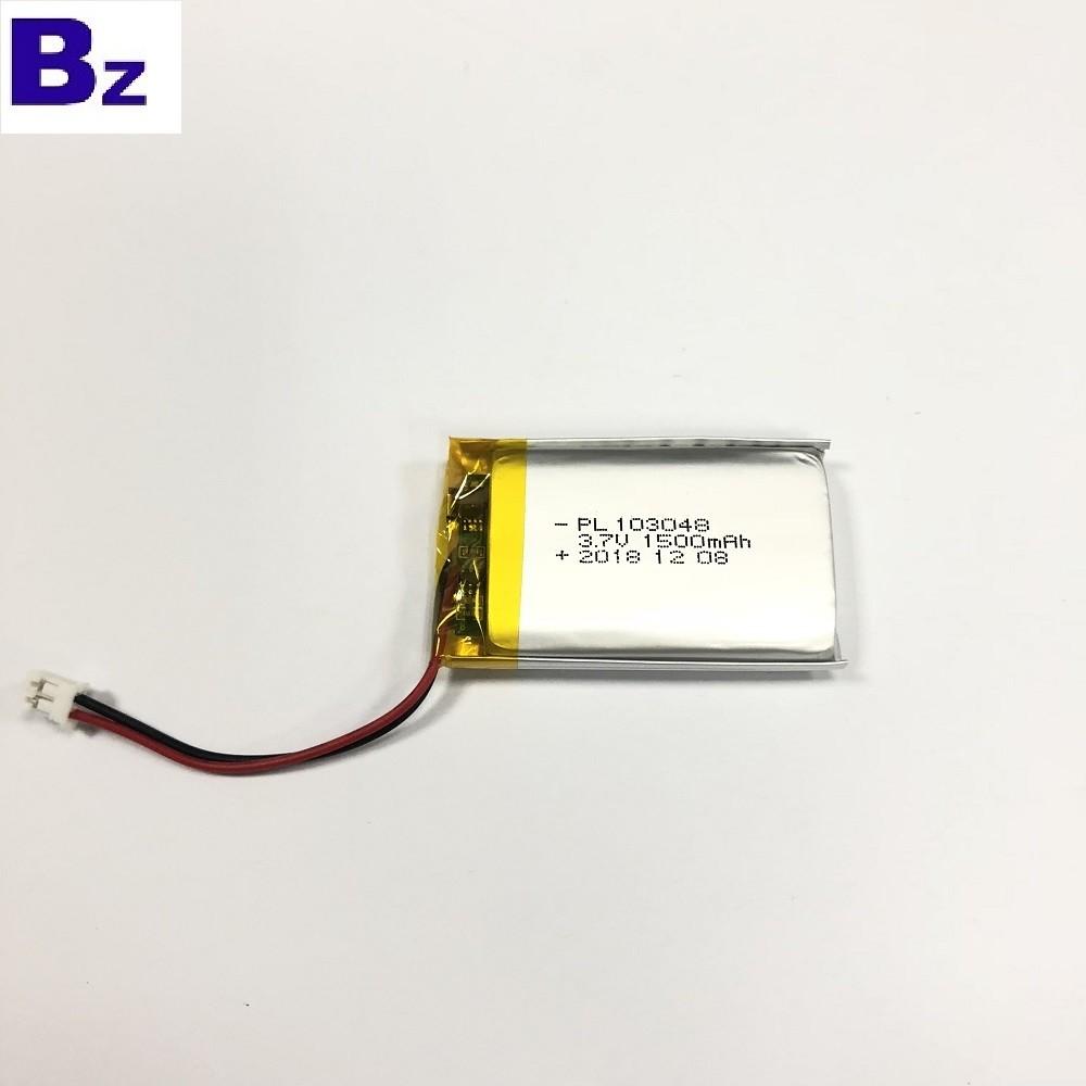 美容和健康生活設備1500mAh電池