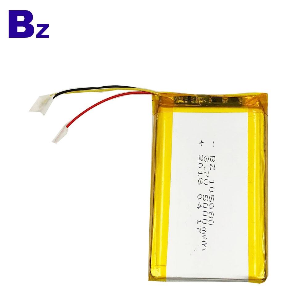 數碼產品的電池 BZ 105080 5000mAh 3.7V 可充電鋰聚合物電池
