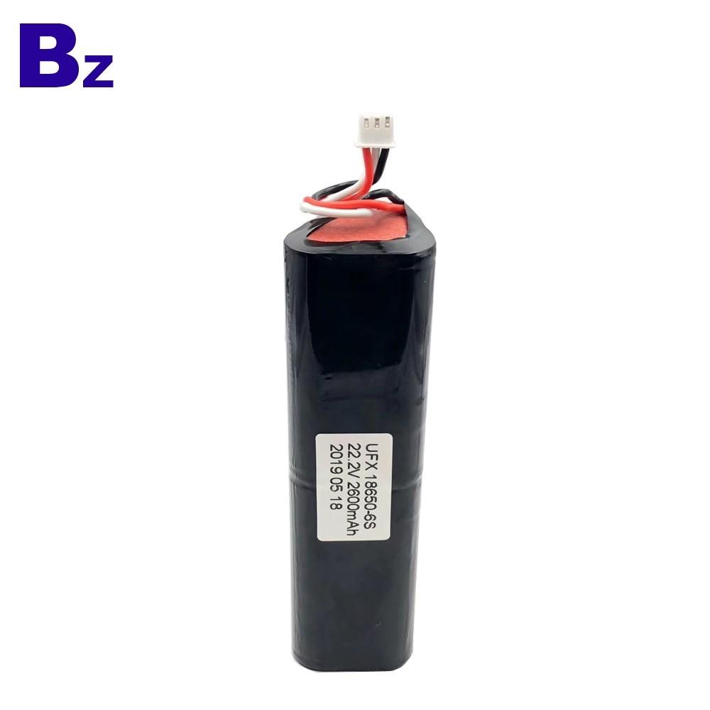 2600mAh鋰離子可充電電池組