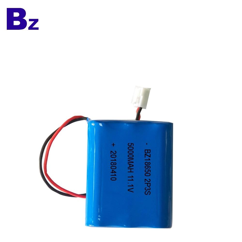 18650-2P3S 5000mAh 11.1V 鋰離子電池