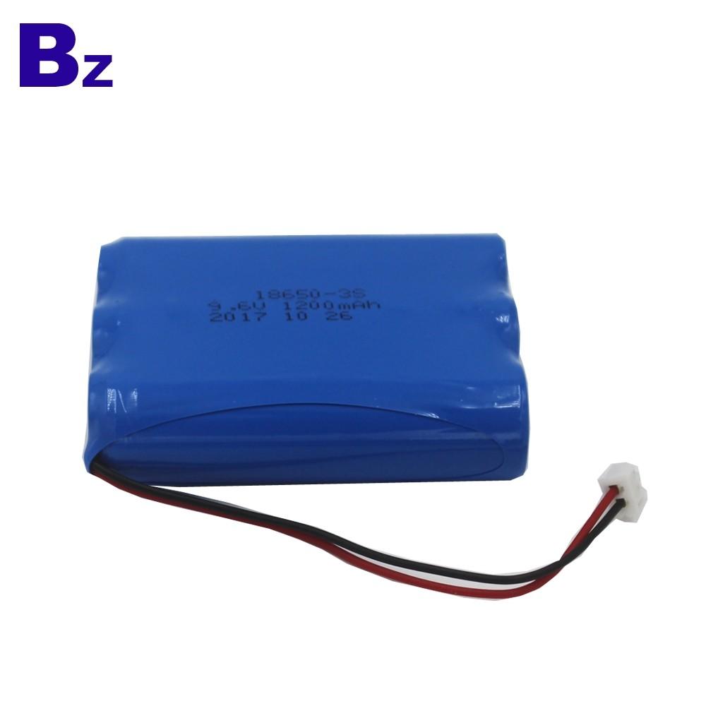 18650-3S 1200mAh 9.6V可充電LiFePO4電池組