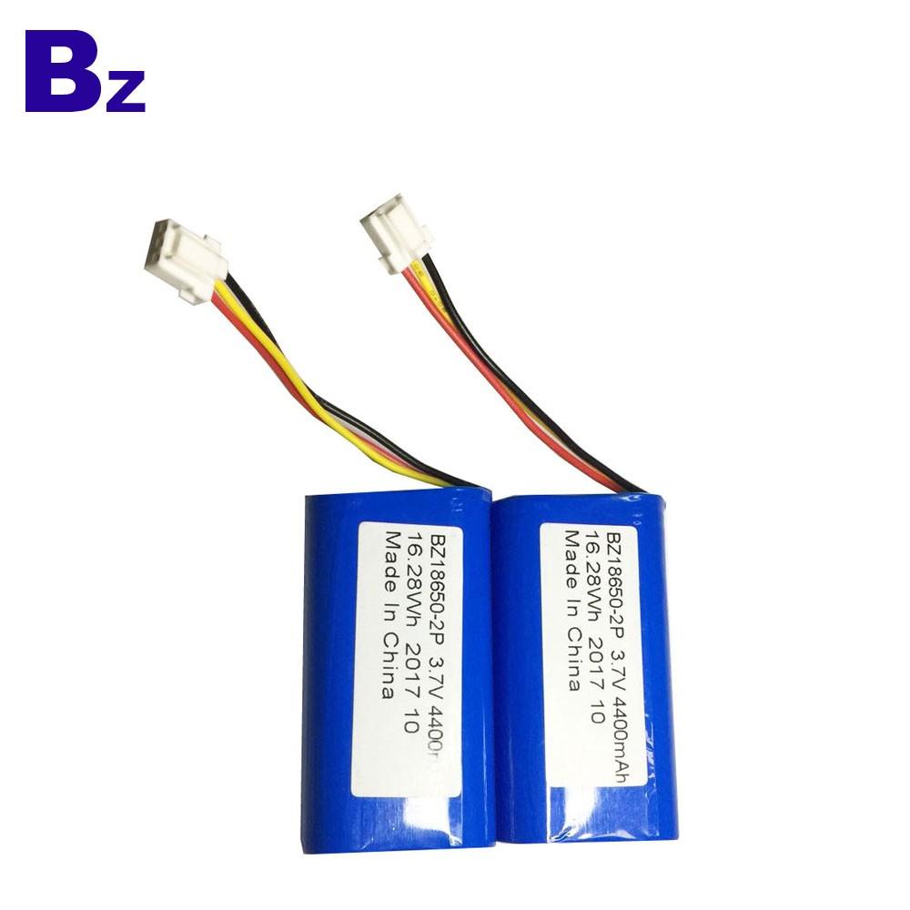 18650-2P電池 4400mah 3.7V 圓柱形鋰離子電池