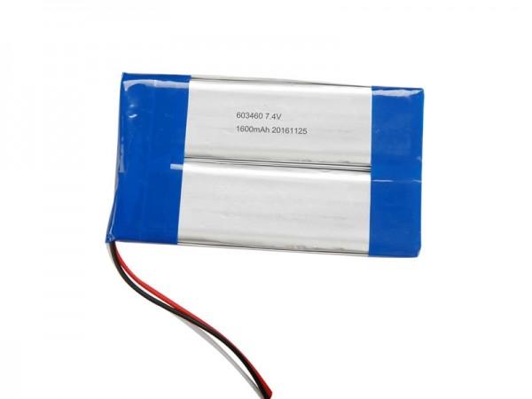 醫療電池 - BZ 675696 - 7.4V - 1800mAh - 鋰離子電池 - 可充電電池