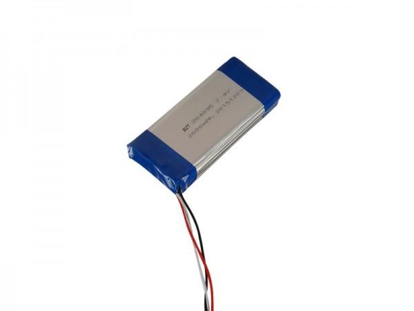 醫療電池 - BZ 204095 - 7.4V - 2600mAh - 鋰離子電池 - 可充電電池