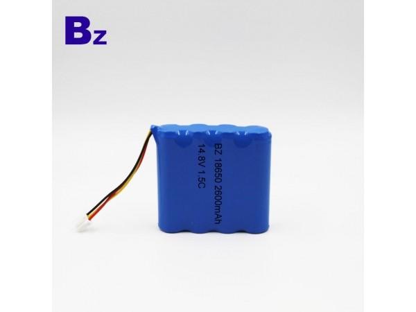 圓柱電池 -18650 - 2600mAh -  鋰離子電池 - 可充電電池
