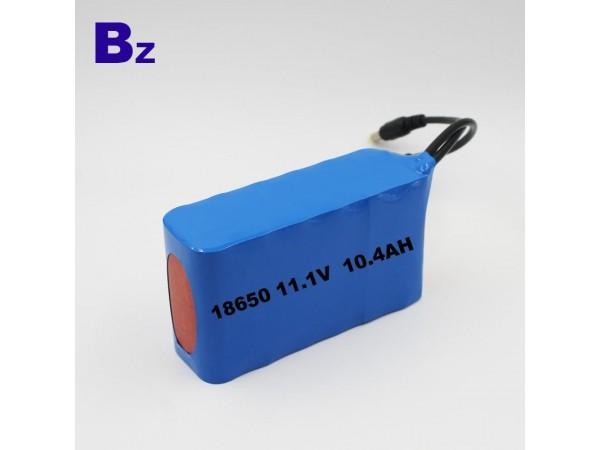 鋰離子電池 18650 3S4P - 10.4Ah - 11.1V