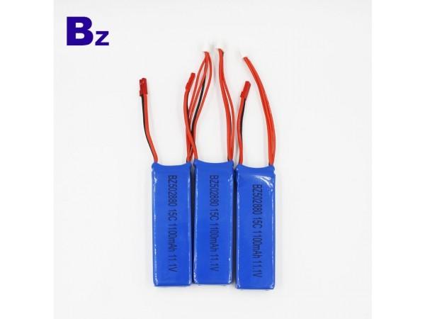 航模高倍率電池 - BZ 502880 - 1100mah - 15c - 11.1v - 3S - 鋰離子電池 - 可充電電池