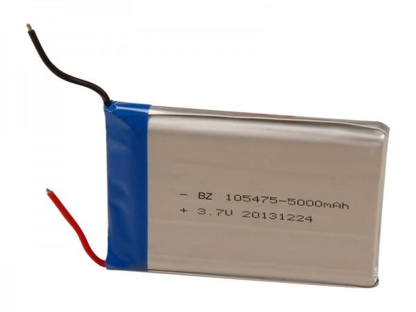 電子數碼產品電池 - BZ 105475 - 5000mAh - 3.7V - 鋰離子電池 - 可充電電池