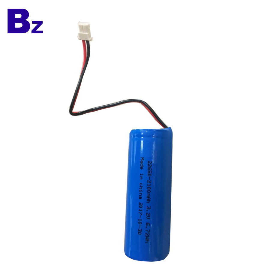 22650 3.2V 2100mAh 磷酸鐵鋰電池
