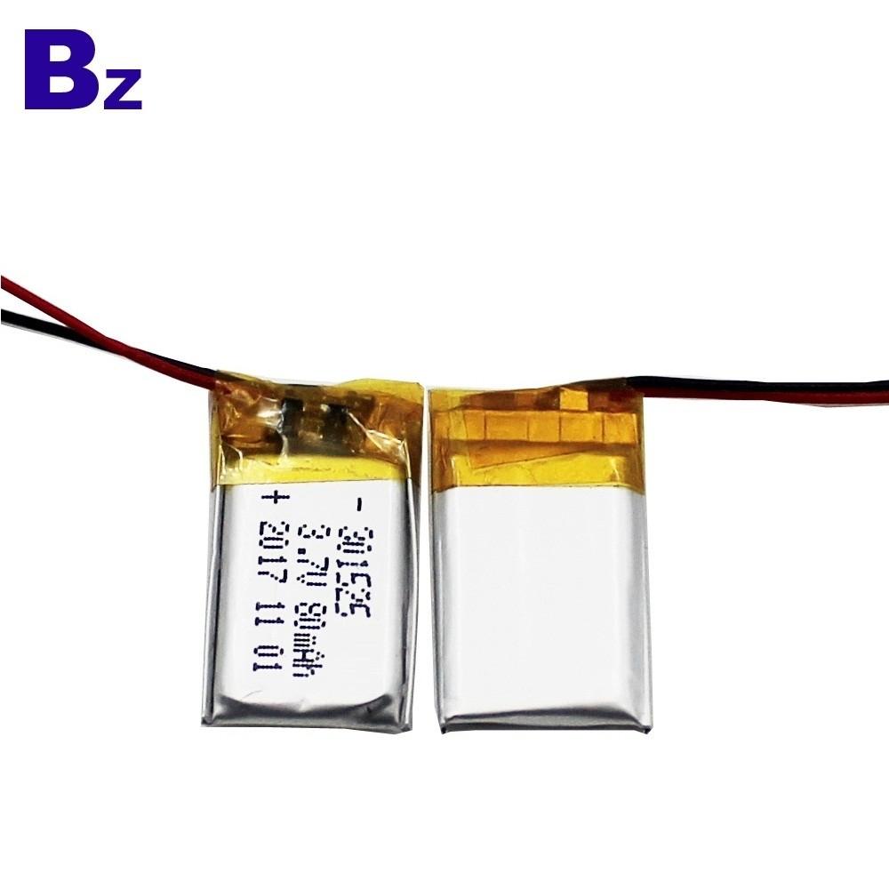 301525 80mah 3.7V鋰電池