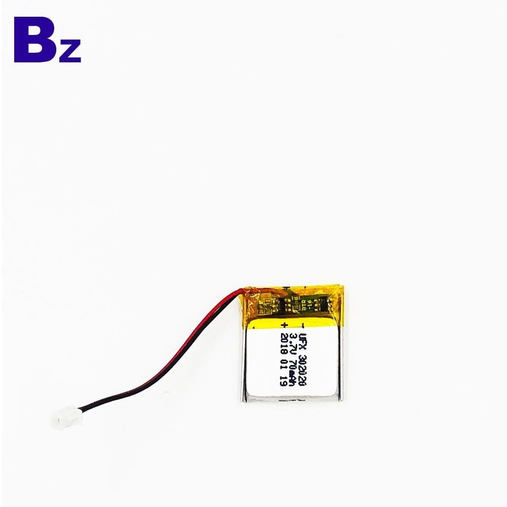 70mAh藍牙耳機鋰電池