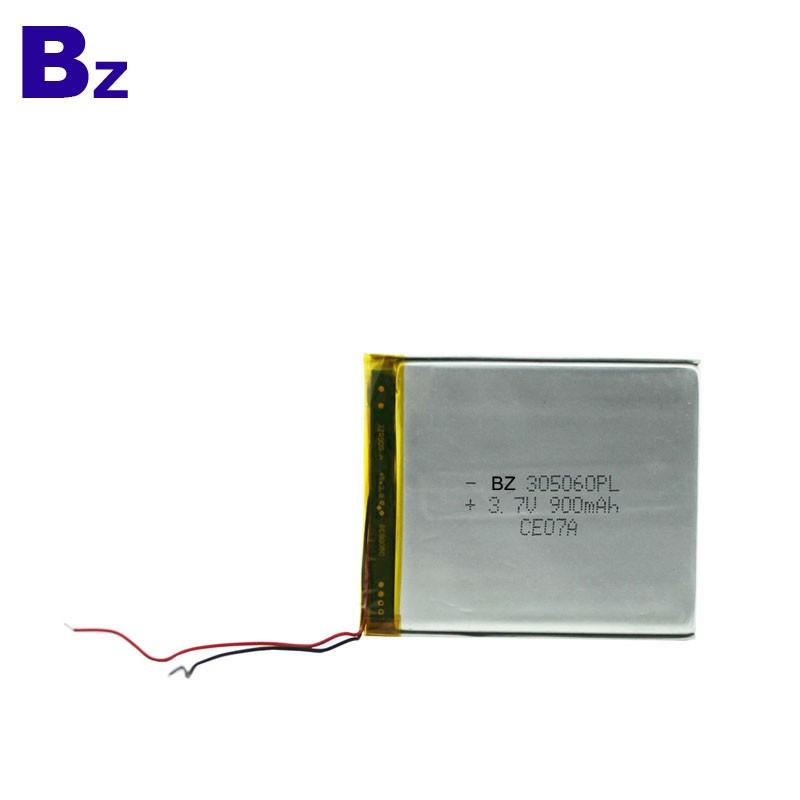 900mah 3.7V 可充電聚合物鋰離子電池