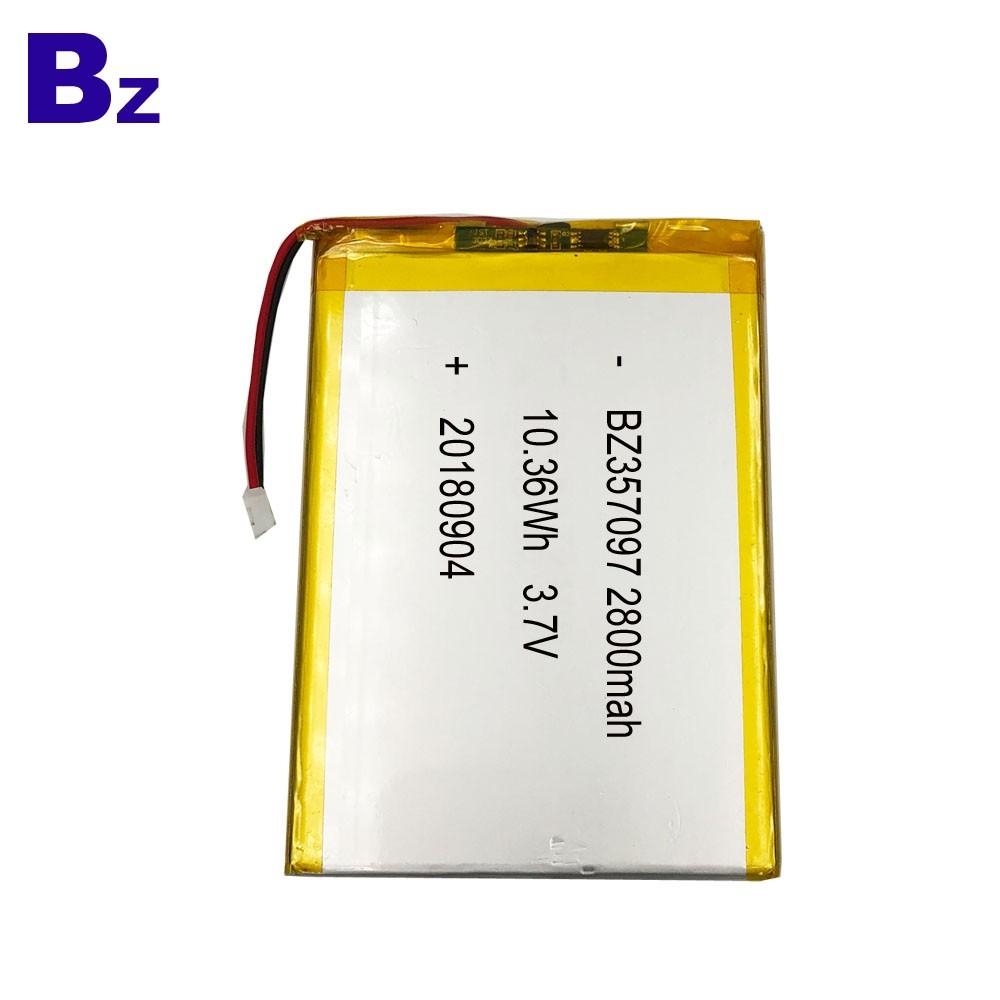 適用於移動平板電腦的鋰電池
