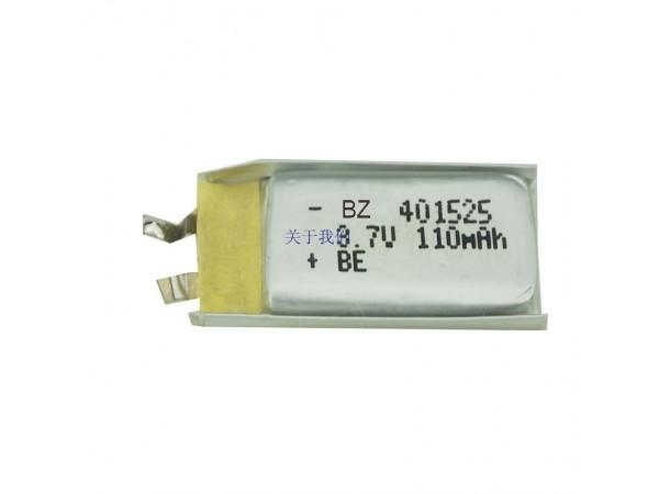 電子數碼產品電池 - BZ 401525 - 110mAh - 3.7V - 鋰聚合物電池 - 可充電電池