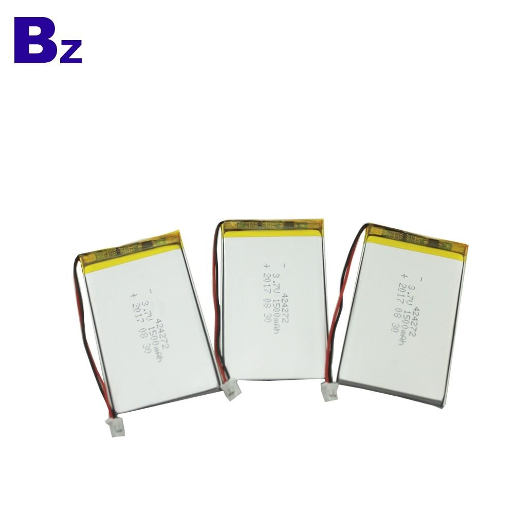 424272 1500mah 3.7V 鋰電池