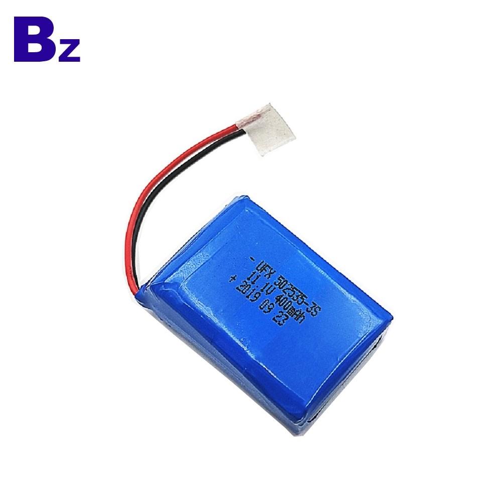 用於音樂盒的400mAh鋰聚合物電池