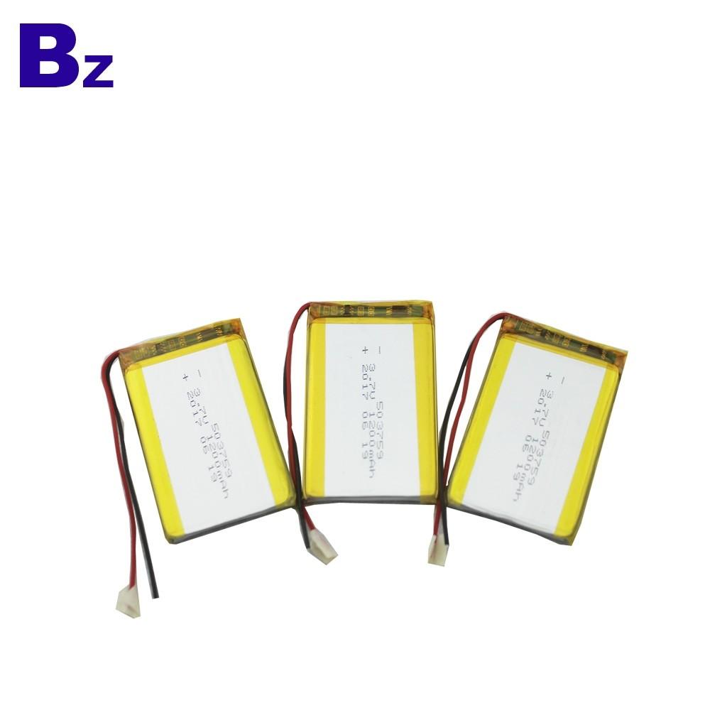 503759 1200mAh 3.7V 可充電LiPo電池