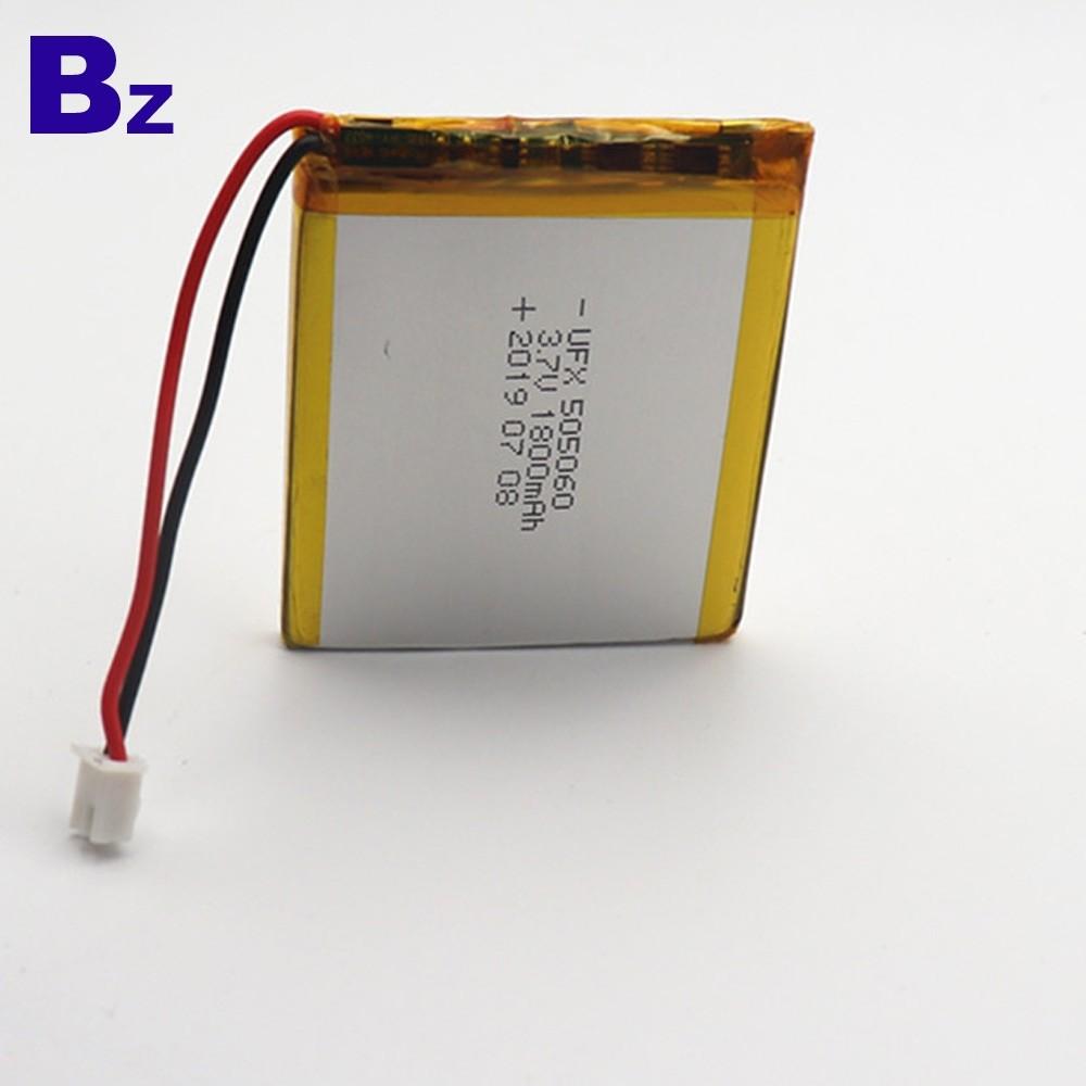 用於藍牙接收器設備的1800mAh電池