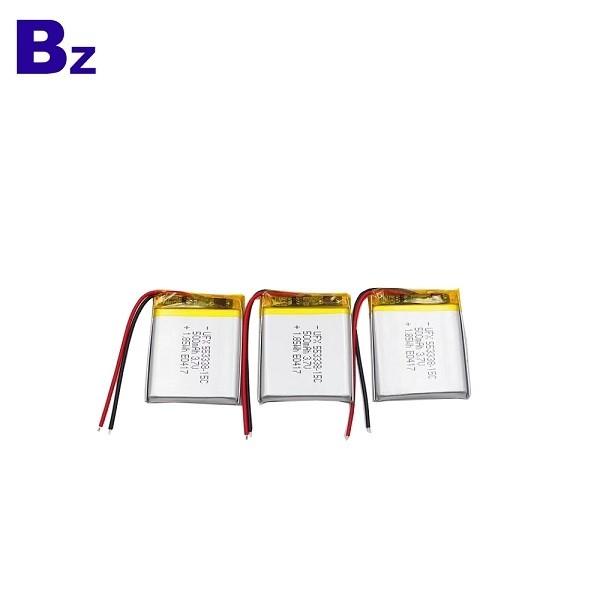 RC設備可充電電池 BZ 553338 15C 3.7V 500mAh 鋰電池