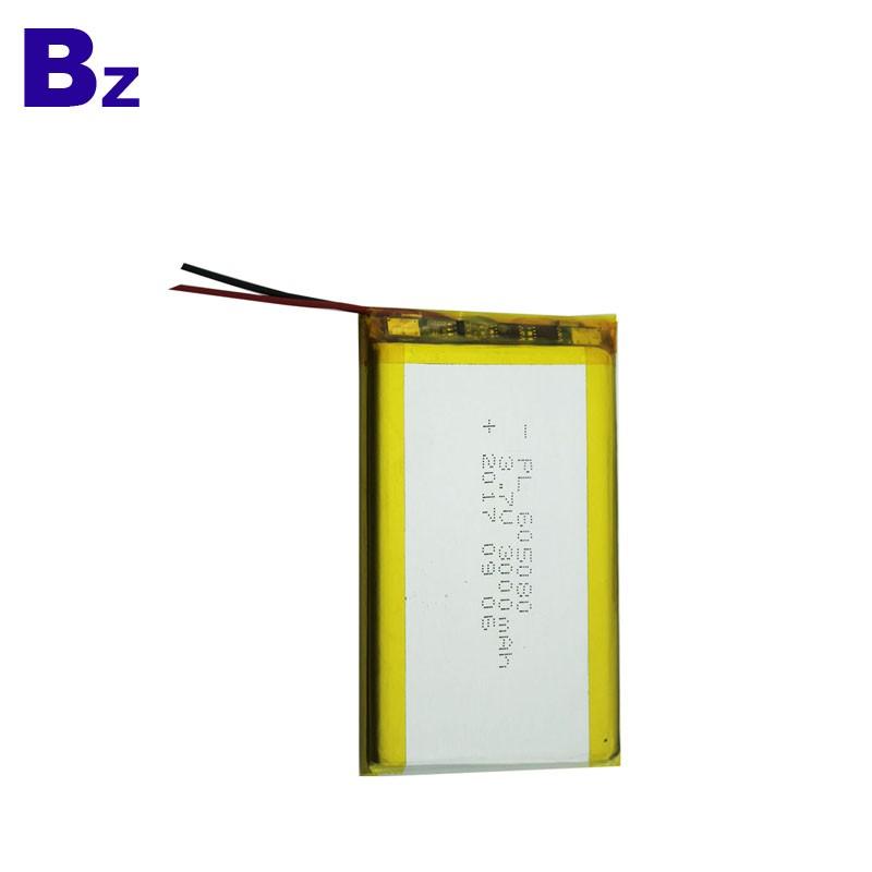 3000mah 3.7V 數碼產品可充電鋰電池