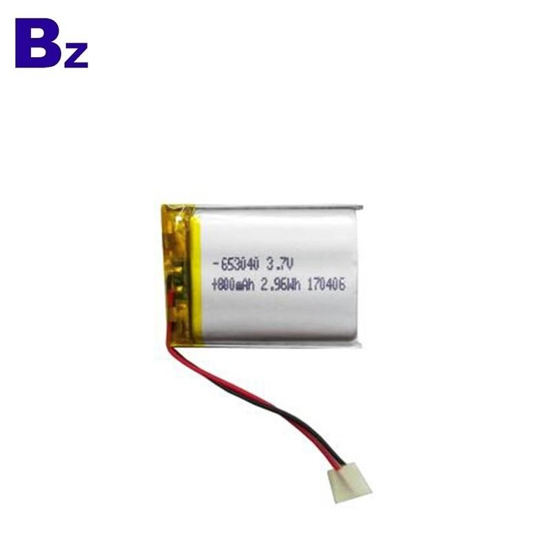 用於無線PC鍵盤的800mAh鋰電池