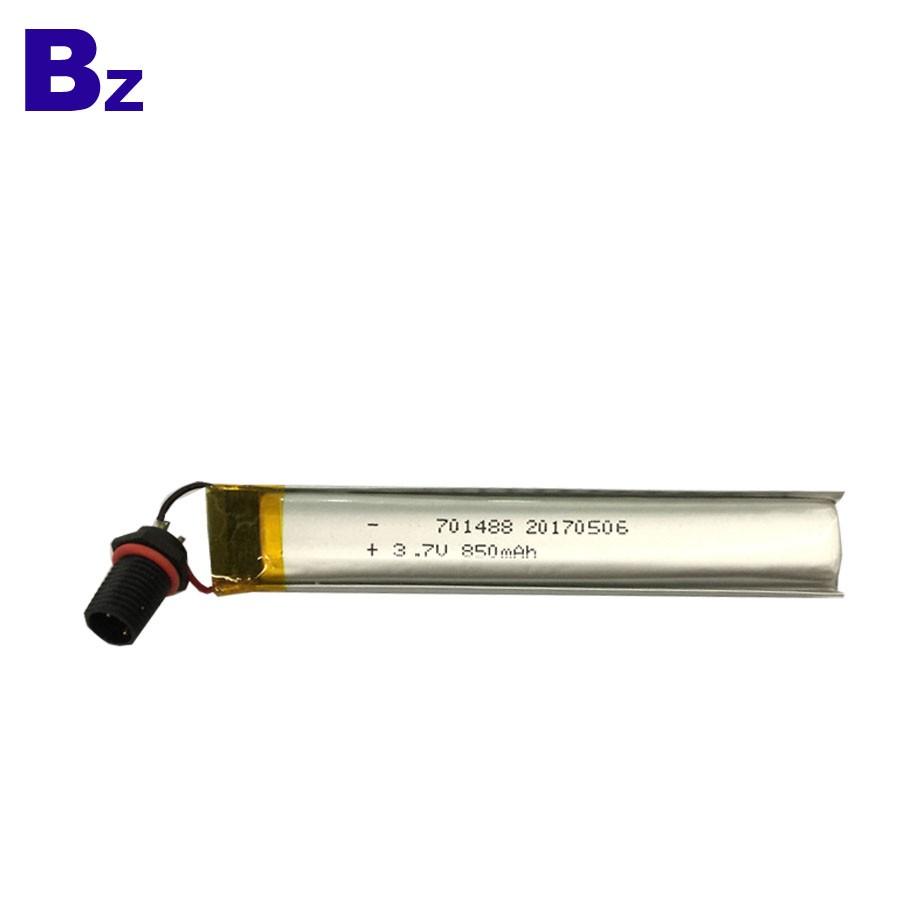 701488 850mah 3.7V鋰電池