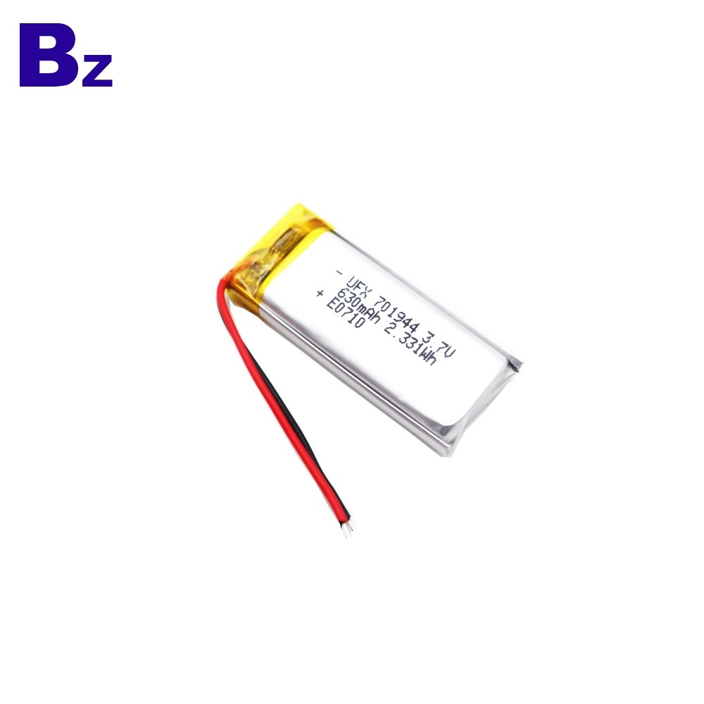 630mAh血壓計鋰電池