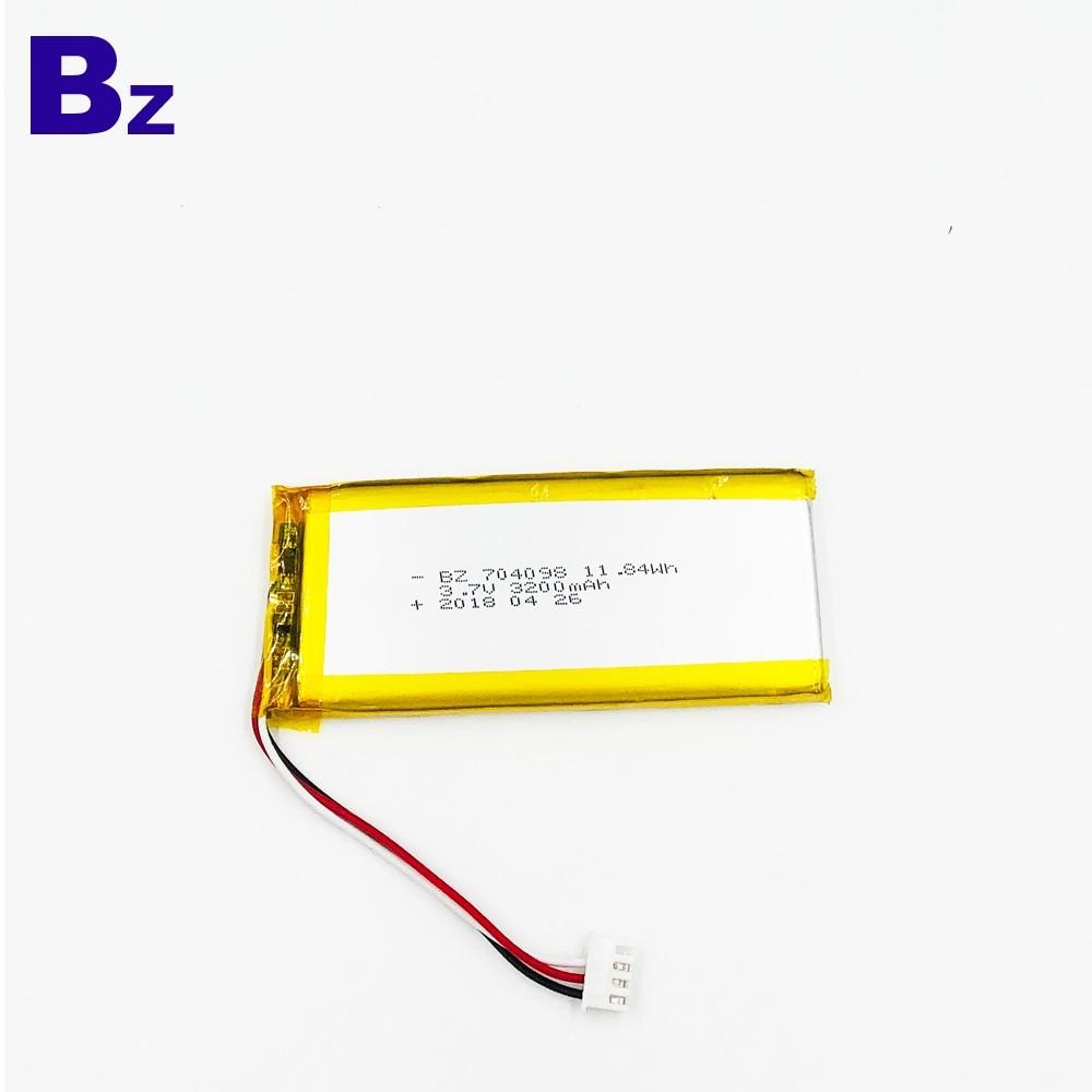 3.7V聚合物鋰離子電池