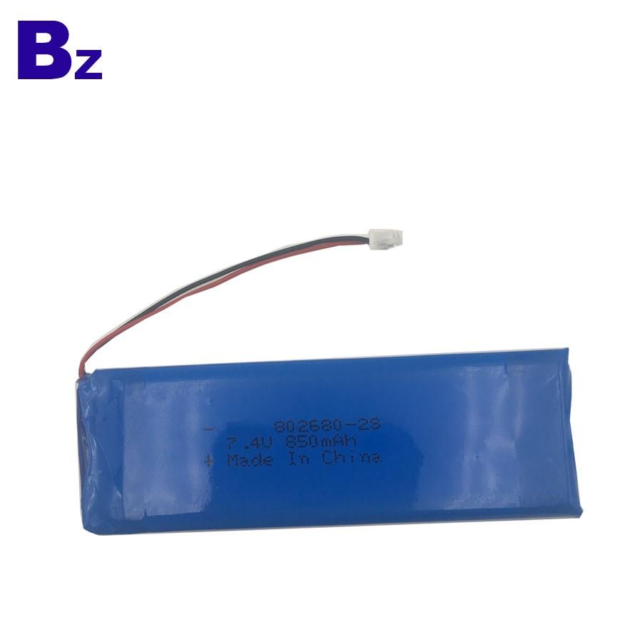 802680 2S 850mah 7.4V 可充電 LiPo 電池組