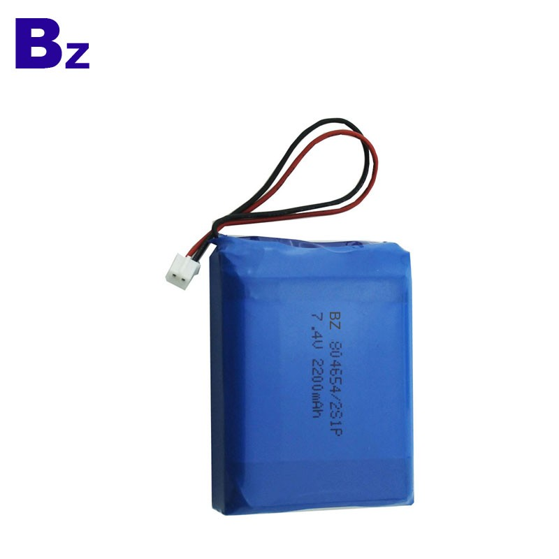 2200mah 7.4V 聚合物鋰離子電池