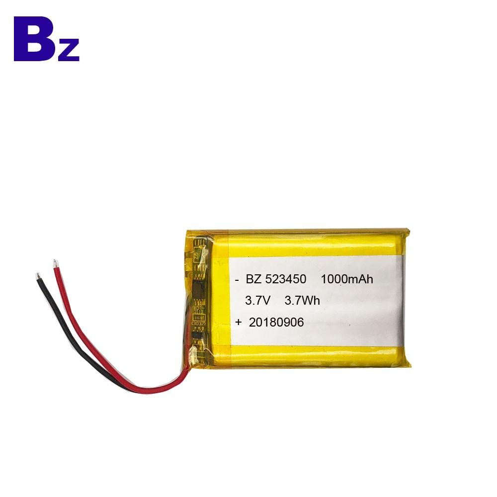 KC認證的1000mah 鋰電池