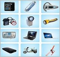 鋰離子電池產品適用領域