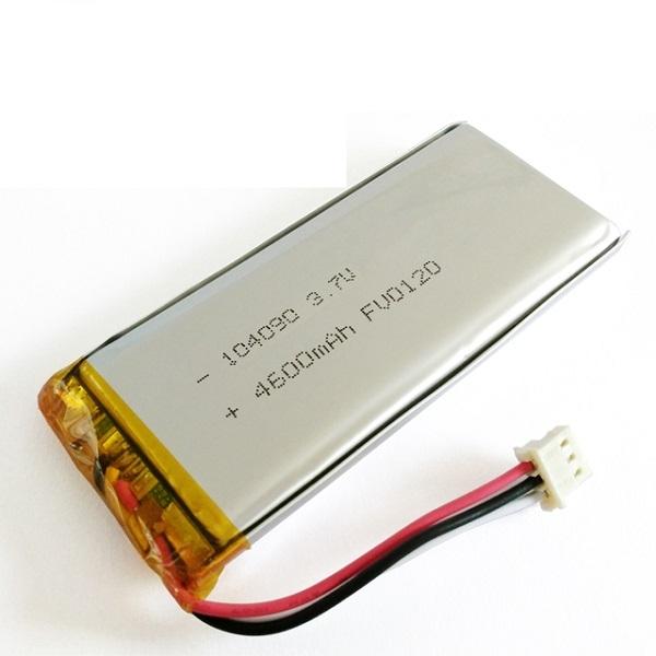 104090 3.7v 4600mAh鋰電池