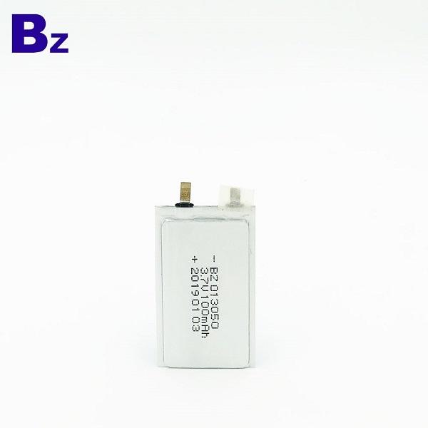 100mAH 3.7伏鋰離子電池
