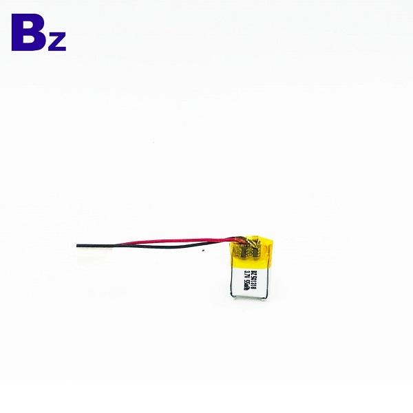 501318 55mAh 3.7V鋰聚合物電池
