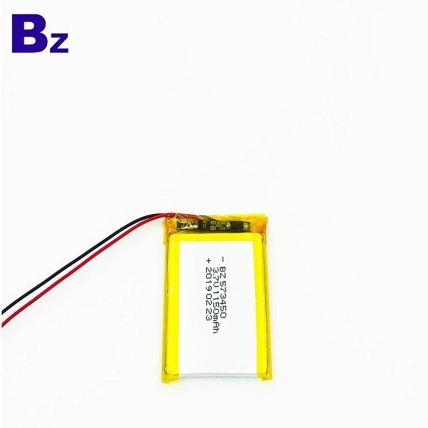573450 1150mAh 3.7V聚合物鋰離子電池