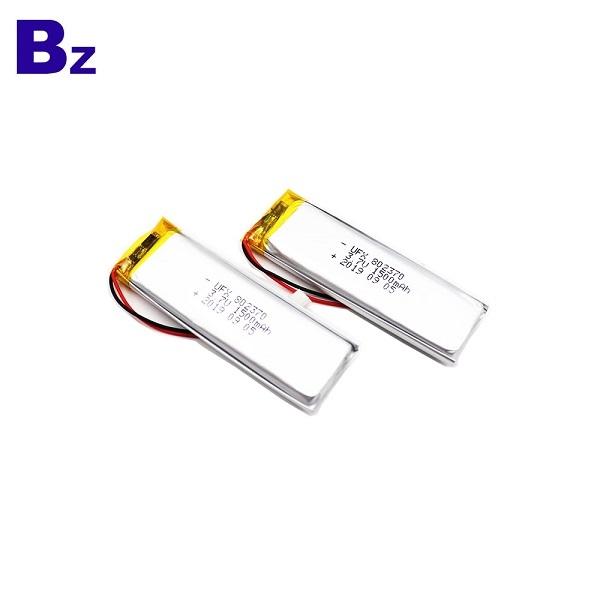 802370 1500mAh 3.7V鋰聚合物電池
