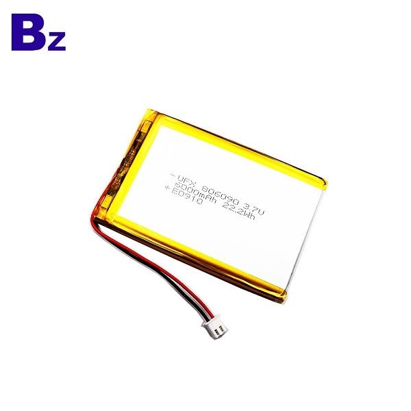 6000mAh高容量鋰電池
