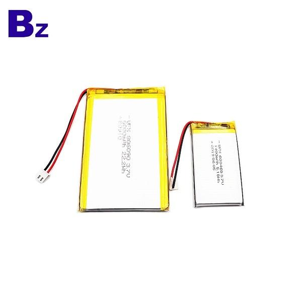 806090 6000mAh 3.7V鋰聚合物電池