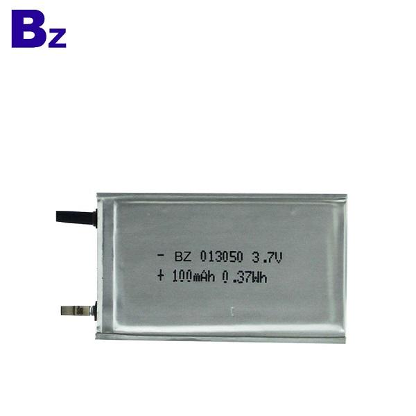 3.7V超薄聚合物鋰離子電池