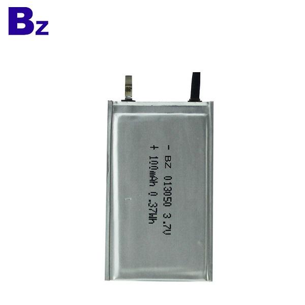 100mah 超薄聚合物鋰離子電池
