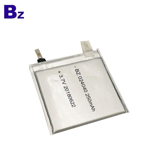 250mAh 3.7V 鋰電池