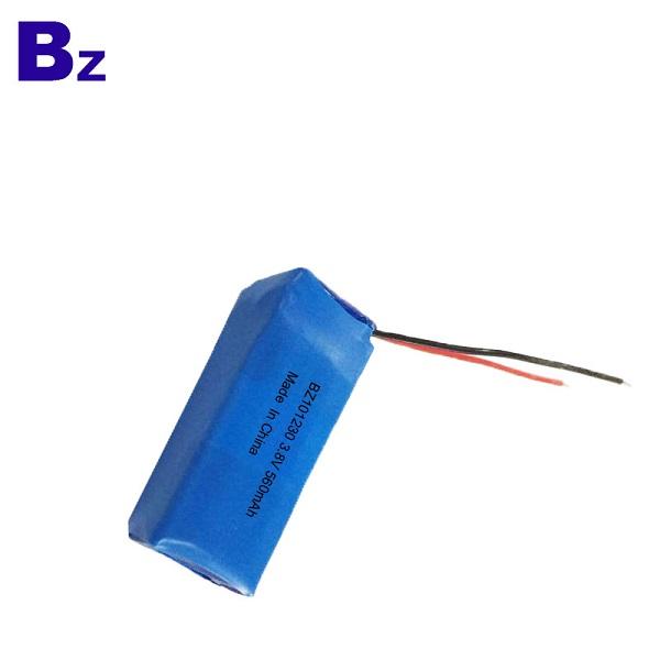 3.7V 560mAh 可充電LiPo電池