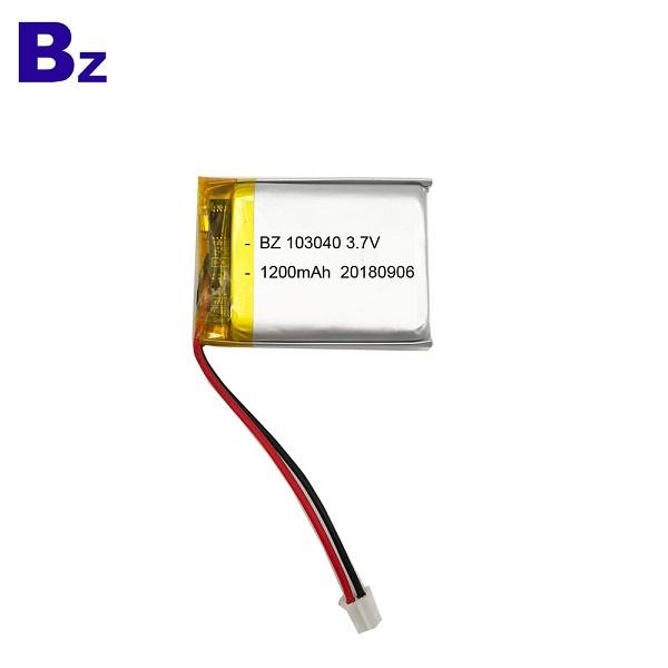 KC認證用於掃描儀的鋰聚合物電池