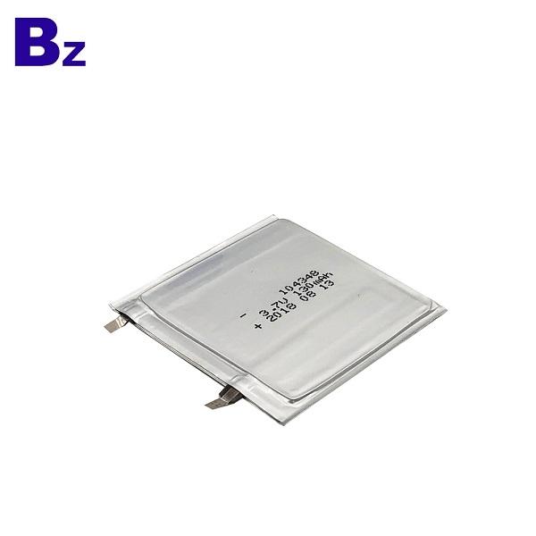 130mAh 3.7V超薄電池