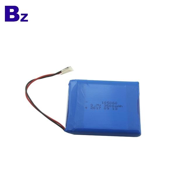 105060 3500mAh 3.7V 可充電鋰聚合物電池